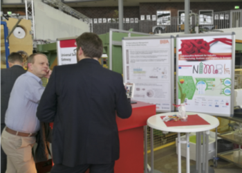 NIMBLE booth at the Supply Chain Day 2017 in Bremen, Germany