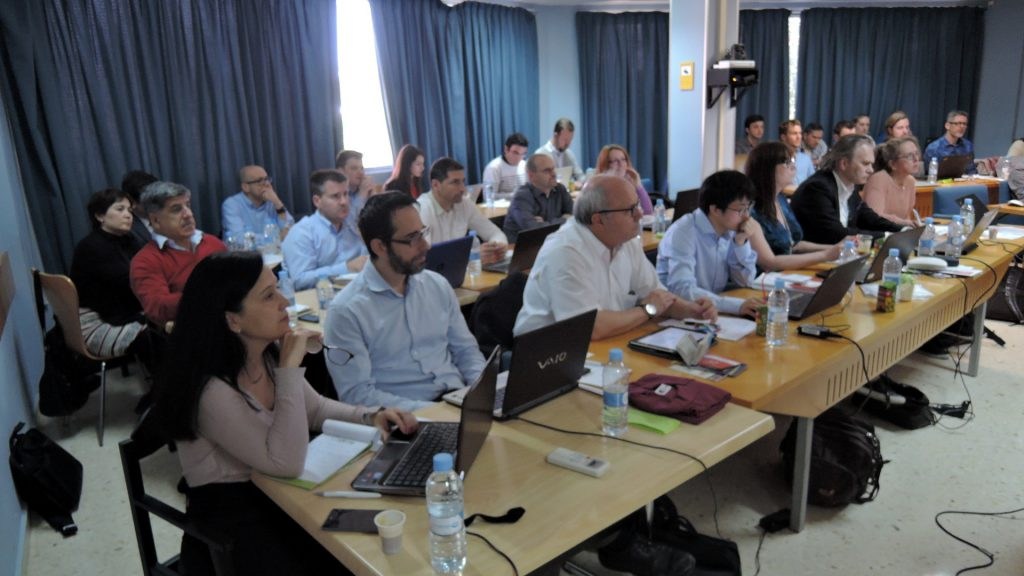 Broad attendance to the presentation of the requirements at the consortium meeting in Valencia